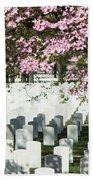 Veterans National Cemetery Beach Towel