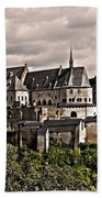 Vianden Castle - Luxembourg Beach Towel