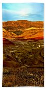 Vibrant Hills Beach Towel