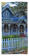 Victorian Home Marthas Vineyard Beach Towel