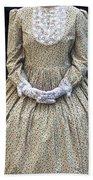 Victorian Lady Beach Towel by Joana Kruse