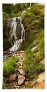 Vidae Falls Landscape Beach Towel