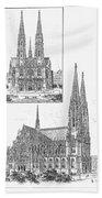 Vienna: Votive Church Beach Towel