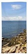 View From Bass Harbor Light Beach Towel