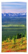 View From Ogilvie Ridge Lookout Beach Towel