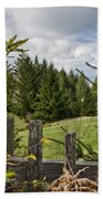 View From Picket Fence Beach Towel