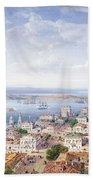 View Of Sebastopol  Beach Towel