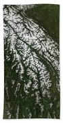 View Of The Rocky Mountains Beach Towel by Stocktrek Images