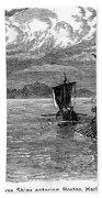 Vikings: North America Beach Towel