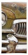 Vintage 1951 Nash Ambassador Front End 2 Beach Sheet