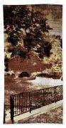 The Red Mill  Bucks County Nj  Beach Towel