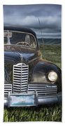 Vintage Auto On The Prairie Beach Towel