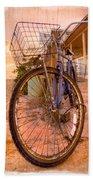 Vintage  Bicycle Beach Towel