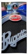 Vintage Bugatti Beach Towel
