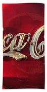 Vintage Coke Beach Towel