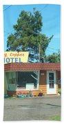 Vintage Motel Beach Towel