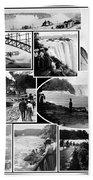 Vintage Niagara Falls Beach Towel