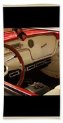 Vintage Packard Interior Beach Towel