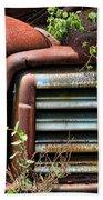 Vintage Rusty Dusty Gmc Graveyard Truck Beach Towel
