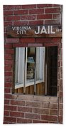 Virginia City Nevada Jail Beach Towel