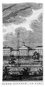 Virginia: College, 1856 Beach Towel