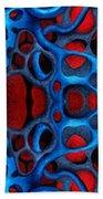 Vital Network II Design Beach Towel