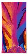 Vitamin E Crystals Beach Towel