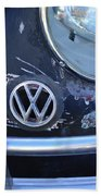 Volkswagen Vw Emblem Beach Towel