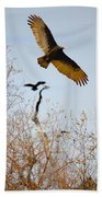 Vulture Beach Towel