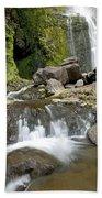 Wailua Falls And Rocks Beach Towel