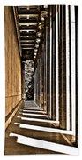 Walhalla Colonnade ... Beach Towel by Juergen Weiss