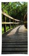 Walk This Way To Nature Beach Towel