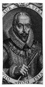 Walter Raleigh, English Courtier Beach Towel