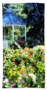 War Memorial Rose Garden 1  Beach Towel