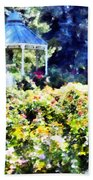 War Memorial Rose Garden  3 Beach Towel