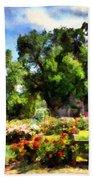 War Memorial Rose Garden  4 Beach Towel