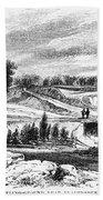 War Of 1812: Bladensburg Beach Towel