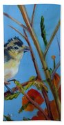 Warbling Verio Beach Towel