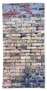 Warehouse Brick Wall Beach Towel
