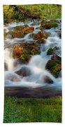 Wasatch Range Cascade Beach Towel