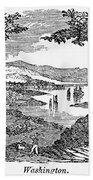 Washington, D.c., 1840 Beach Towel
