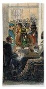 Washington: Voting, 1867 Beach Towel
