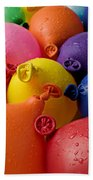 Water Balloons Beach Towel