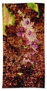 Water Flowers Vietnam Beach Towel