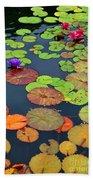 Water Lilies I Beach Towel