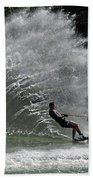 Water Skiing 20 Beach Towel
