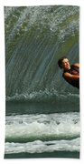 Water Skiing Magic Of Water 1 Beach Towel
