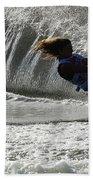 Water Skiing Magic Of Water 12 Beach Towel