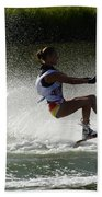 Water Skiing Magic Of Water 16 Beach Towel