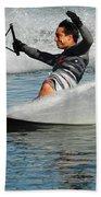 Water Skiing Magic Of Water 22 Beach Towel